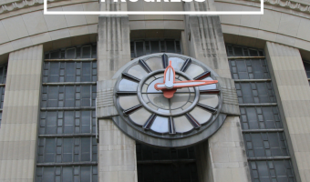 Cincinnati union terminal, art deco clock - Grand Inspirations - restoration in progress