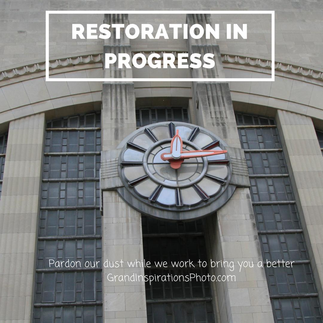 Grand Inspirations - restoration in progress