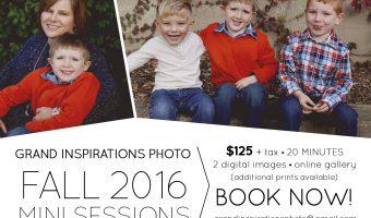 advertisement, grand inspirations photo, children, boys, family photo
