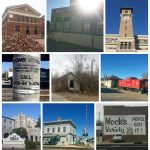 train stations, railroad sign, stre sign, pepsi sign, GM&O station, railroad crossing, caboose, abandoned building