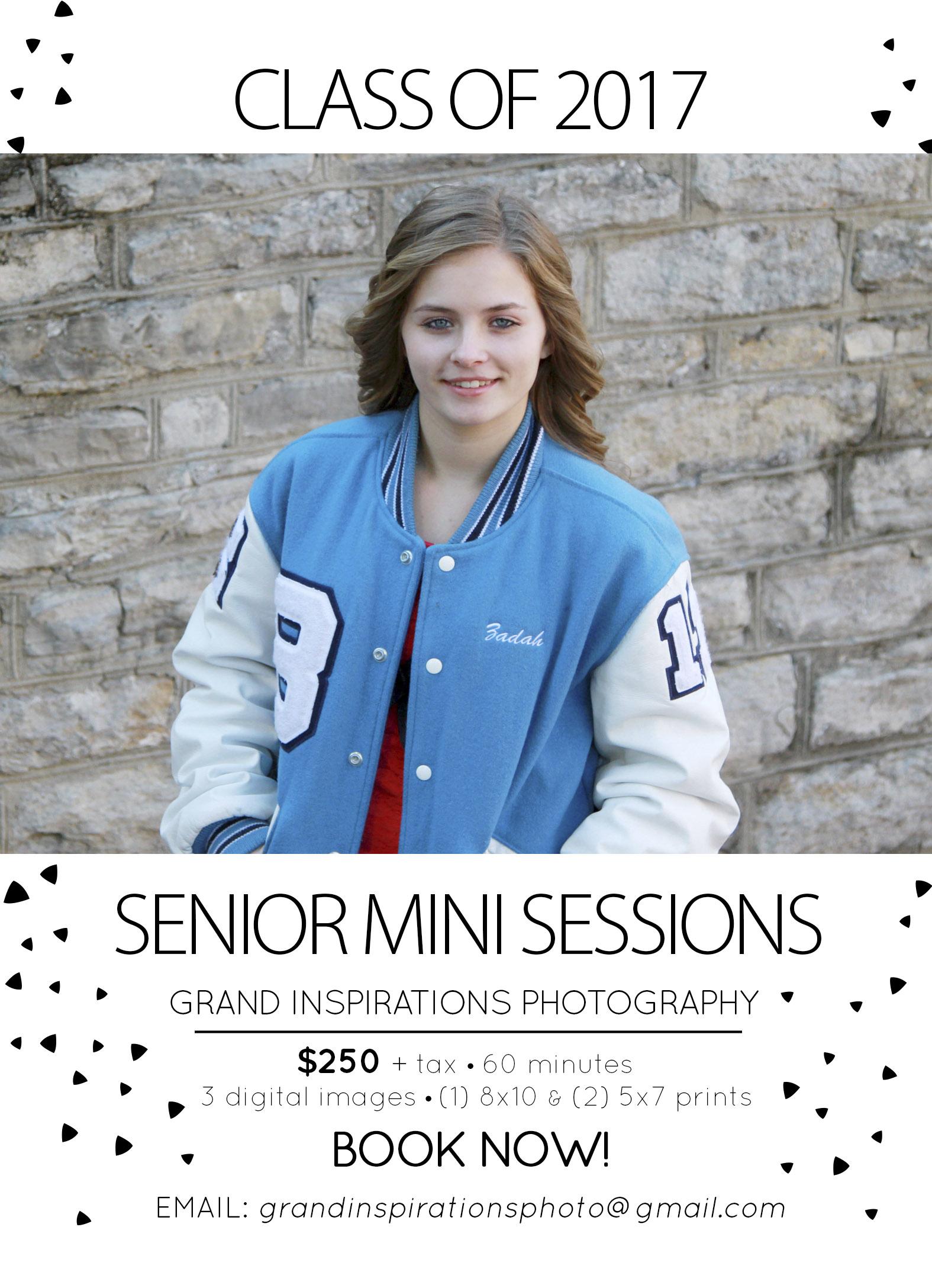 Class of 2017 Senior Mini Sessions | Cincinnati Senior Photographer